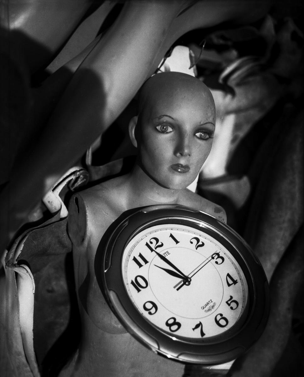 Maniqui con reloj